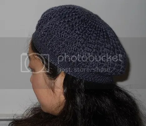 navy slouchy hat