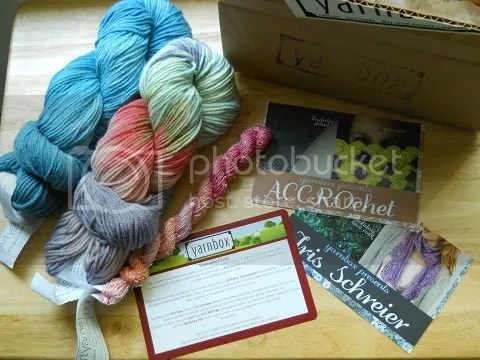 june 2014 yarnbox