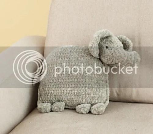 elephant pillow