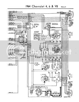 64 chevy II steering column wiring diagram  Chevy Nova Forum