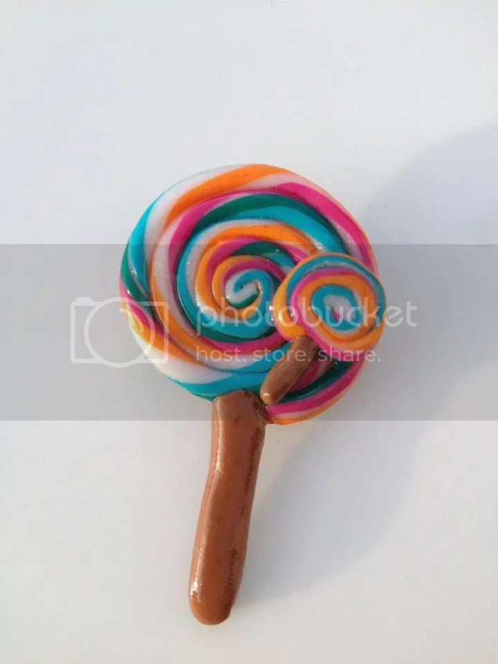 Shellybobbins Lollipop Brooch