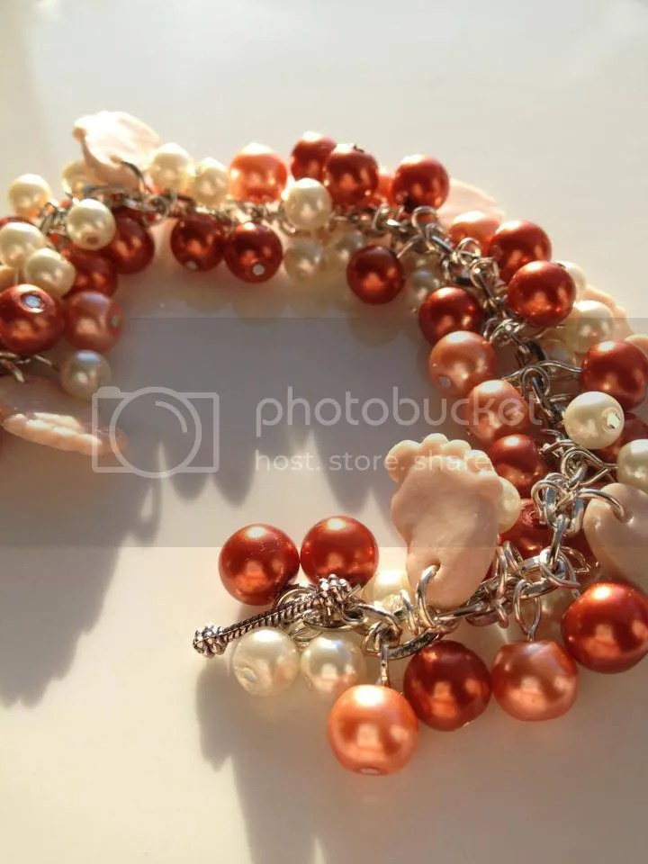 Neutral Natural Colour Beaded Bracelet