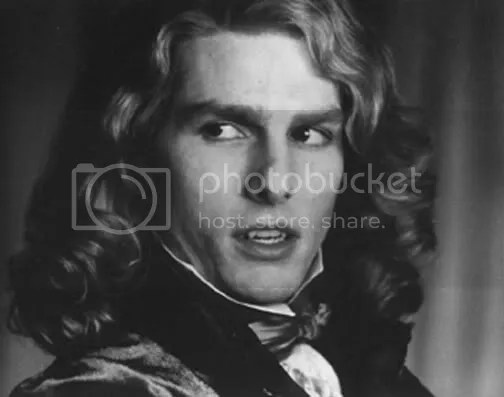 Lestat, interpretado por Tom Cruise no filme Entrevista com o Vampiro, de 1994
