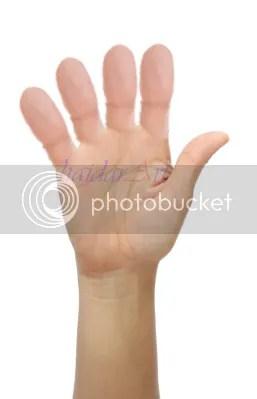 Tangan dengan jari jempol semua, Ok-kah?