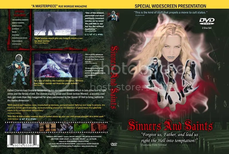 Sinners and Saints box art