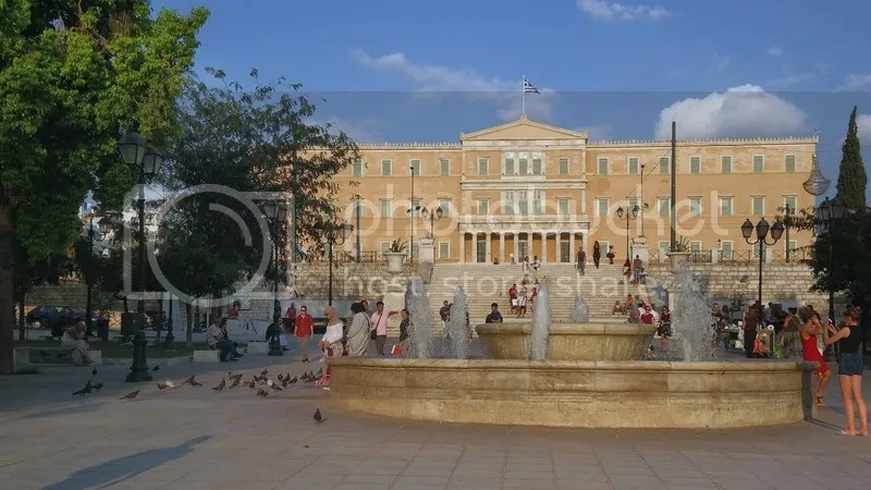 Hellenic Parliament, Syntagma Square, Athens, Greece