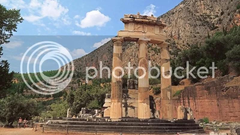 Sanctuary of Athena Pronai, Delphi, Greece
