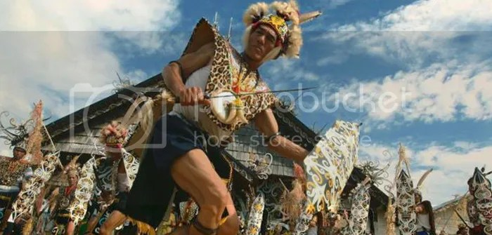 Dayak Dance, West Kalimantan, Indonesia