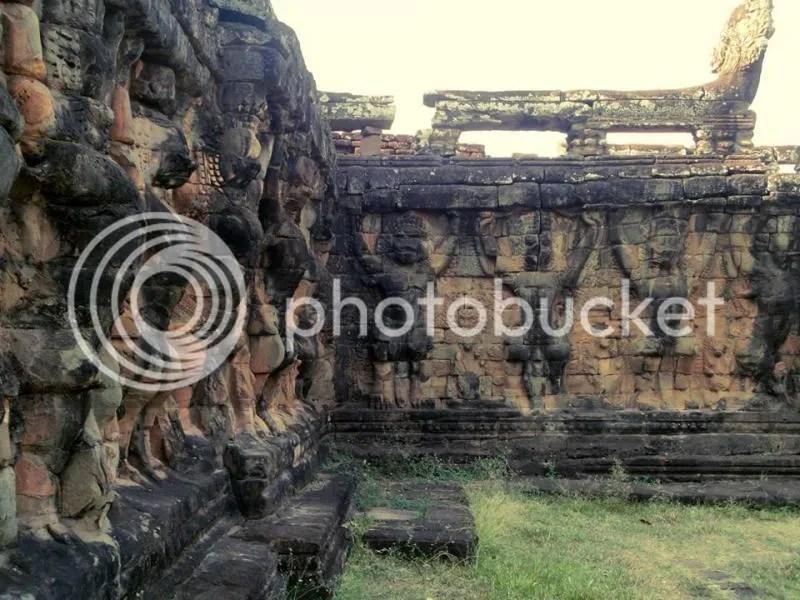 Terrace of the Elephants, Angkor Thom, Siem Reap, Cambodia