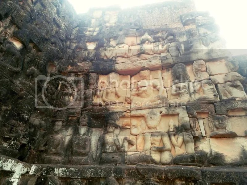 Terrace of the Leper King, Angkor Thom, Siem Reap, Cambodia