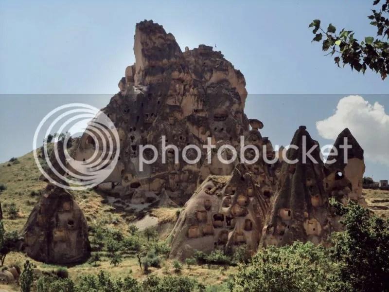 Uchisar Castle, Uchisar, Cappadocia, Turkey