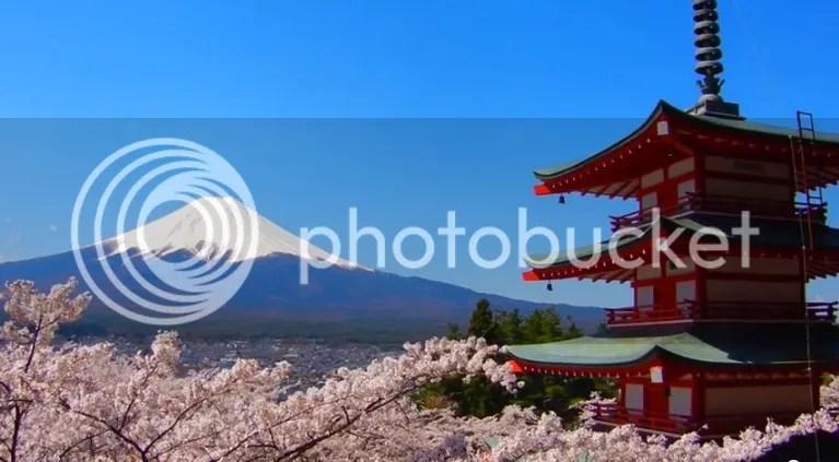 Chureito Pagoda, Fujiyoshida, Yamanashi, Chūbu, Japan