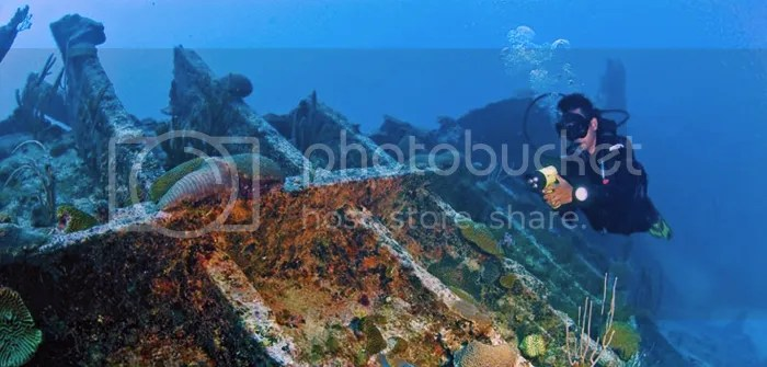 Shipwrecks Diving, Bermuda
