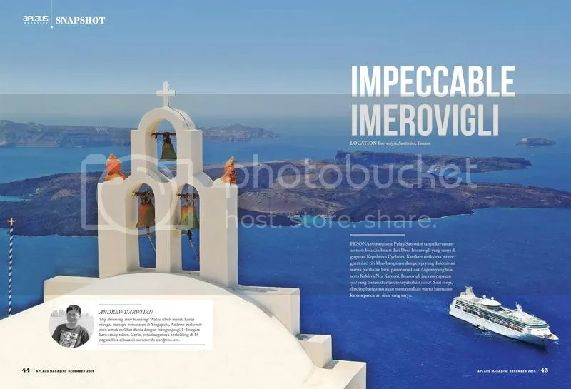 Impeccable Imerovigli - Imerovigli, Santorini, Greece - featured on Aplaus Magazine's December 2015 Edition