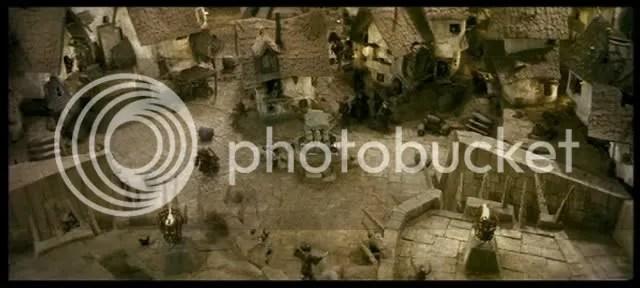 città di Goblin, piazza