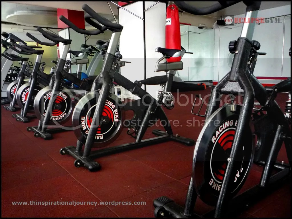 Eclipse 24/7 Fitness Center stationery bikes