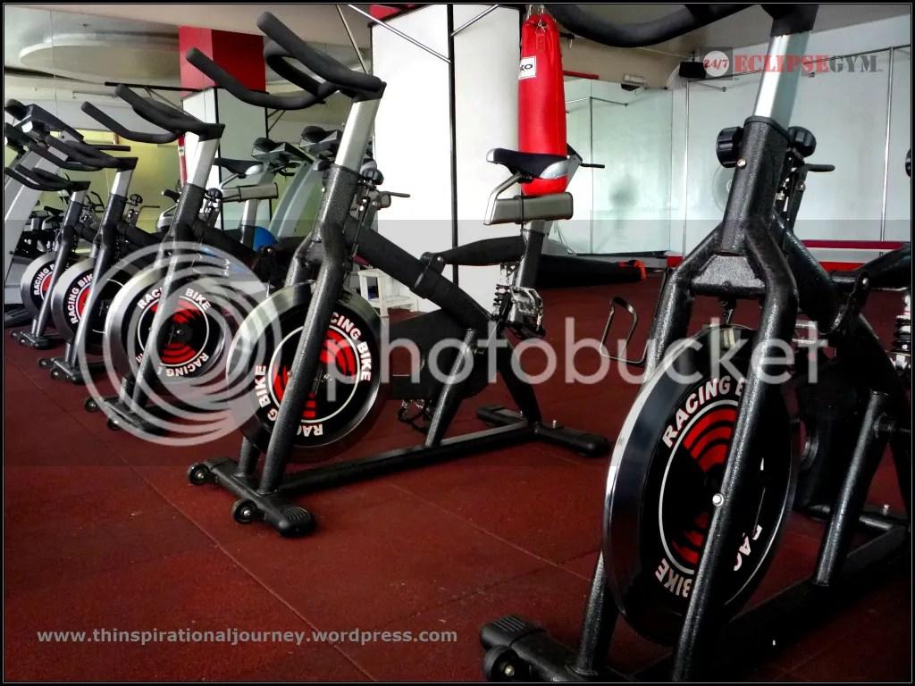 Eclipse 24/7 Fitness Center stationery bikes