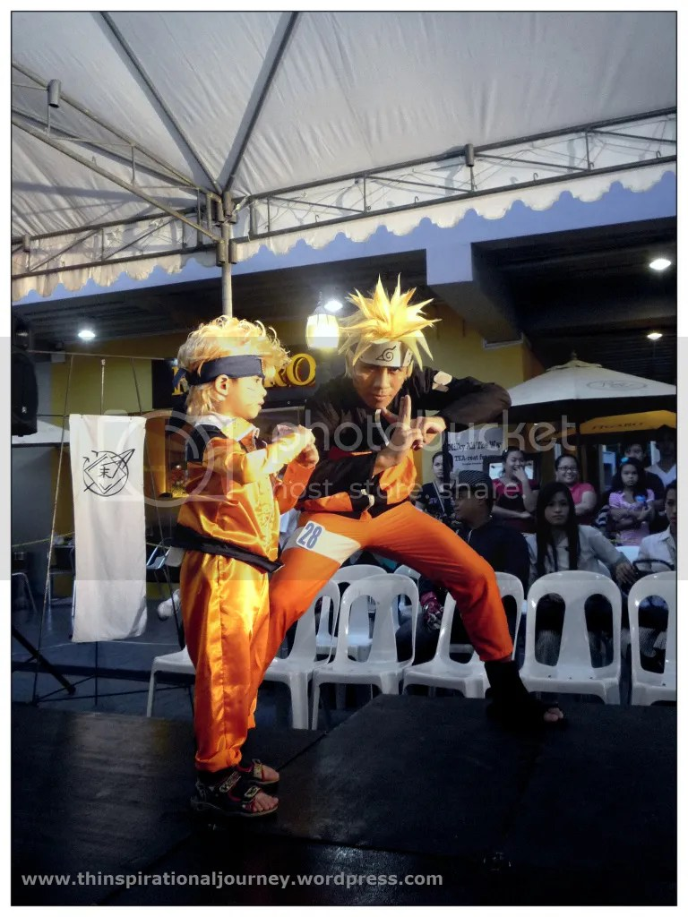 Naruto Coplay at Pergola