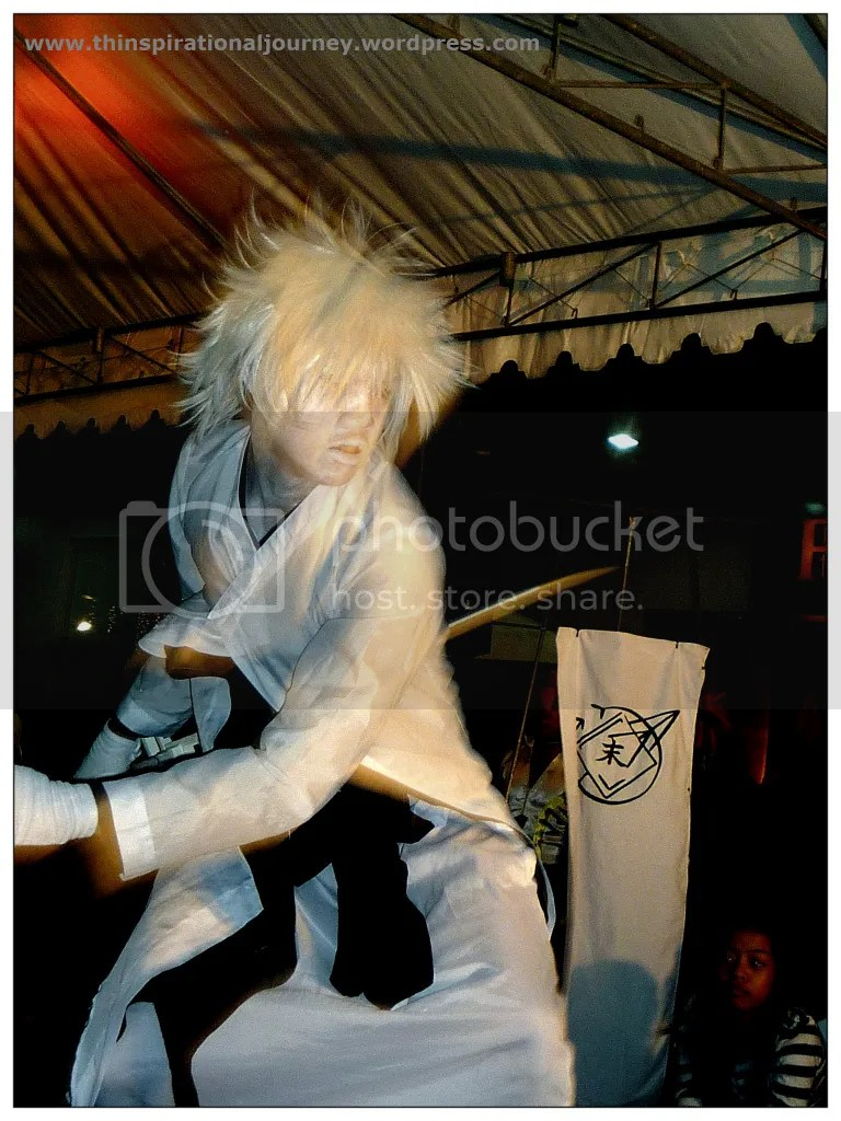 Nega Ichigo from Bleach Cosplayer. Animetic The Pergola