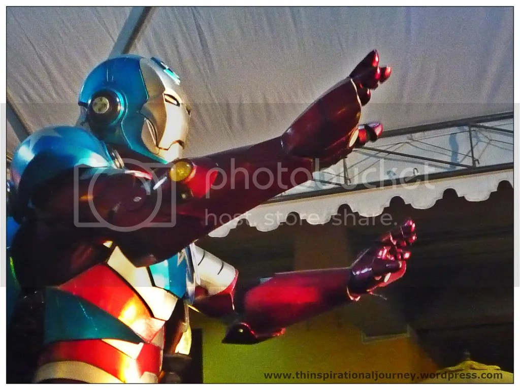 Iron patriot Cosplay . Animetic The Pergola