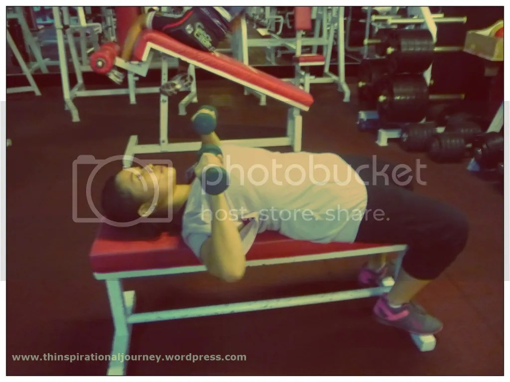 Lara Novales Dumbbell Bench Press 1