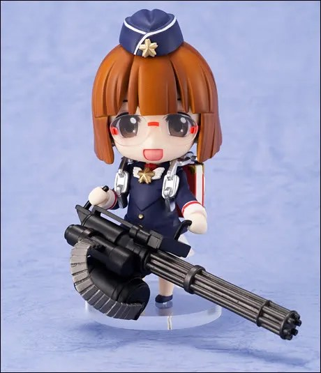Jiei-tan and her machine gun