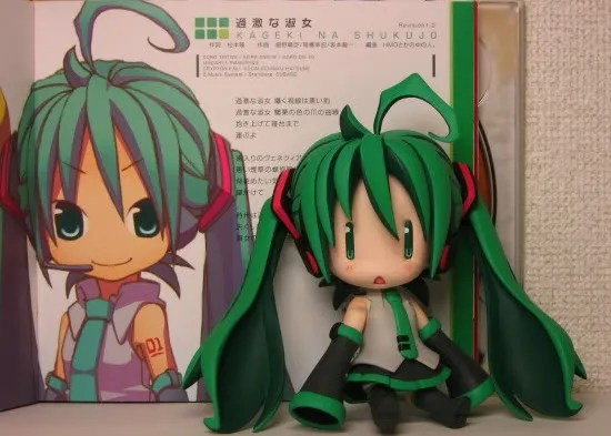 Nendoroid Hatsune Miku (HMO version?) has another face plate