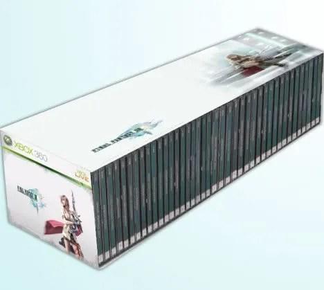 Jumlah DVD yang dibutuhkan Final Fantasy XIII versi Xbox360 (ilustrasi)