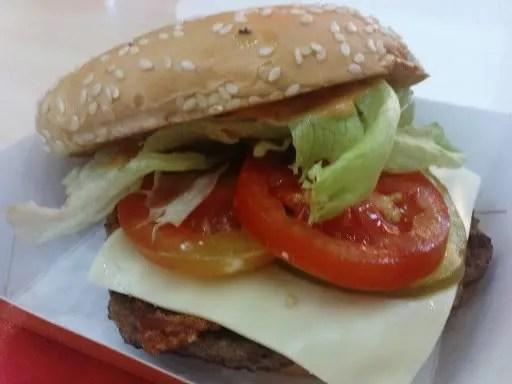 Mozza Burger di A&W