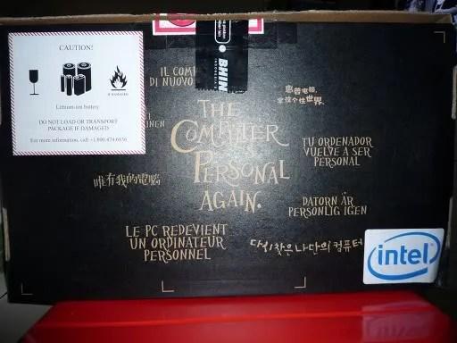 Tampak belakang box