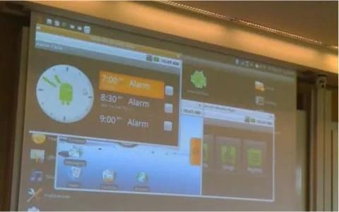 Aplikasi Android dijalankan pada Ubuntu