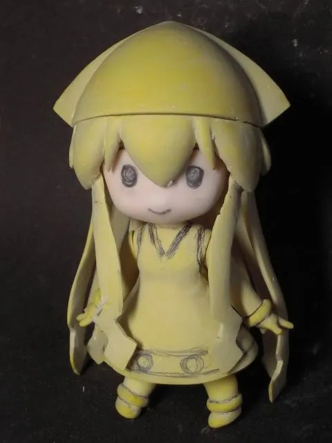 New expression from Nendoroid Ika Musume prototype
