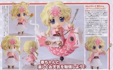 Nendoroid Haru-chan from NHK News Watch 9