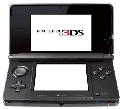 Bentuk fisik Nintendo 3DS