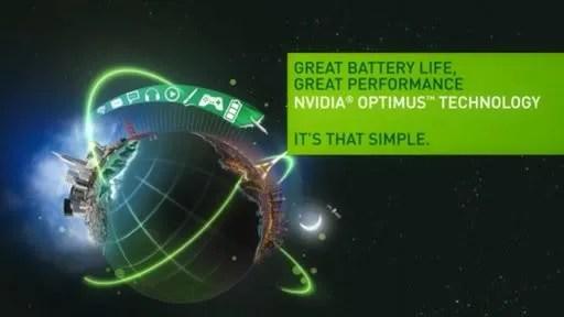 Teknologi NVIDIA Optimus