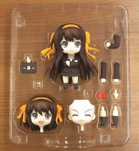 Box content of Nendoroid Suzumiya Haruhi: Disappearance version