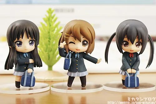 Nendoroid Petit K-ON! Set (TBSishop & Lawson Limited Edition)