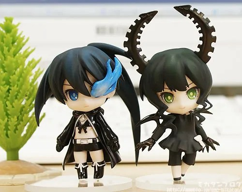 Nendoroid Petit Black Rock Shooter and Dead Master