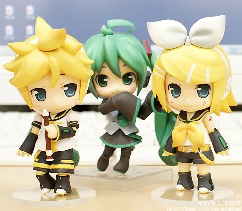 Nendoroid Hatsune Miku Absolute HMO Edition with Rin and Len