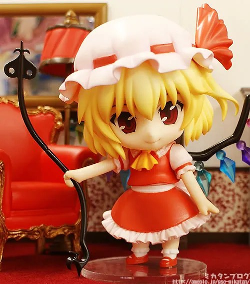 Flan and her deadly weapon