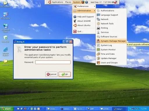 Portable Ubuntu pada Windows XP