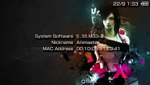 Bukan Sebenarnya: Custom firmware 5.55 M33-2 pada PSP