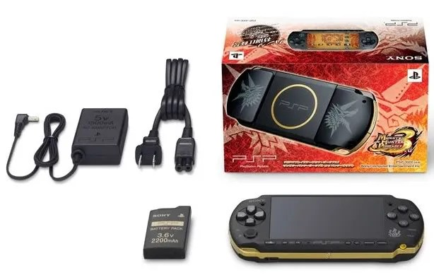 Paket PSP Monster Hunter Portable 3rd