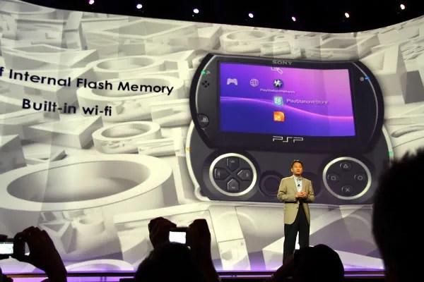 Presentasi PSP Go pada E3