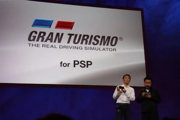 Presentasi Gran Turismo PSP pada E3