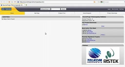Situs untuk pengembang aplikasi open source dari Telkom