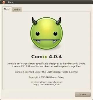 Comix: Aplikasi untuk membaca komik/manga