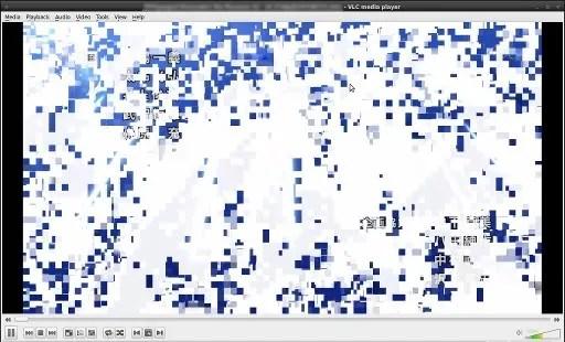 Artefak muncul pada video Hi10P yang diputar pada VLC Media Player 1.1