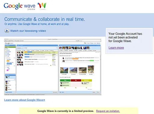 Google Wave Preview