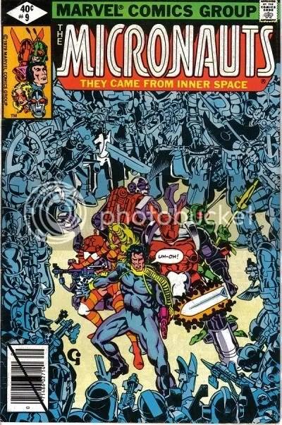 Micronauts 9